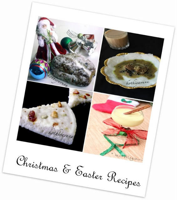 Christmas Recipes  kothiyavunu.com