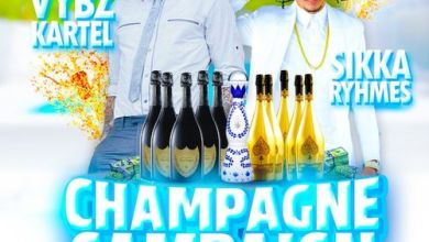 Photo of Vybz Kartel x Sikka Rymes – Champagne Campaign Lyrics