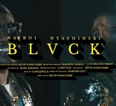 NAIBOI X NYASHINSKI - BLACK Lyrics