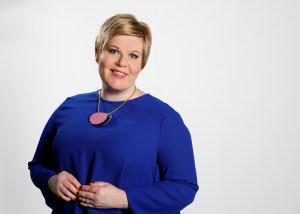 Annika Saarikko Keskustan uusi puheenjohtaja
