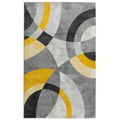 azijski trepavica postoji trend tapis gris et jaune