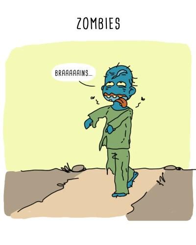 zombie eat brains
