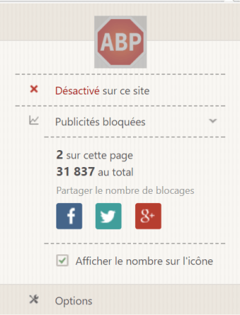 deactivate adblocker when visiting my website please