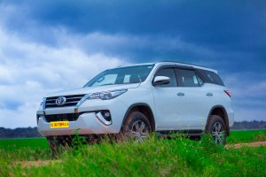 Rent Toyota Fortuner automatic in Kerala without driver