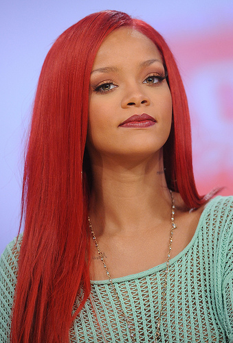 thought experiment about digital scarcity - rihanna photo