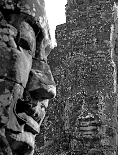 buddha face photo