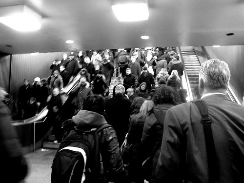 busy station photo