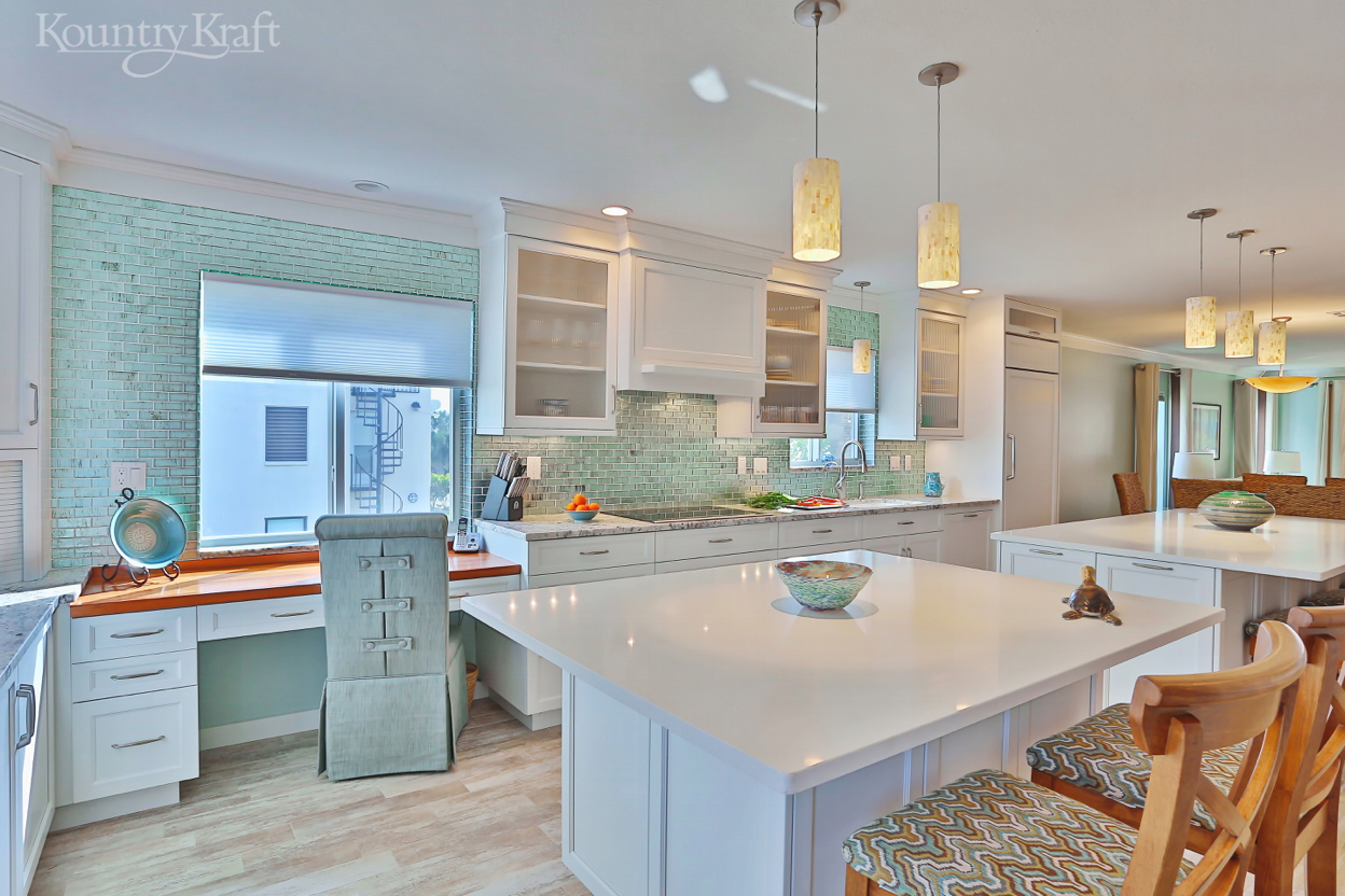 transitional kitchen cabinets in venice, fl - kountry kraft