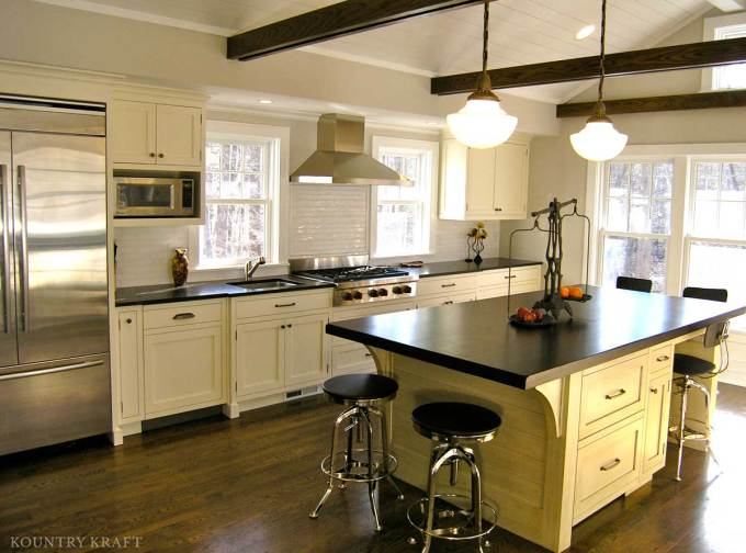 Painted Kitchen Cabinetry In New Canaan Ct