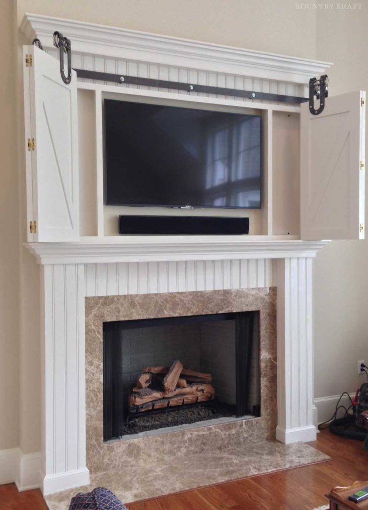 Custom Fireplace Mantel Surround In Malvern Pennsylvania