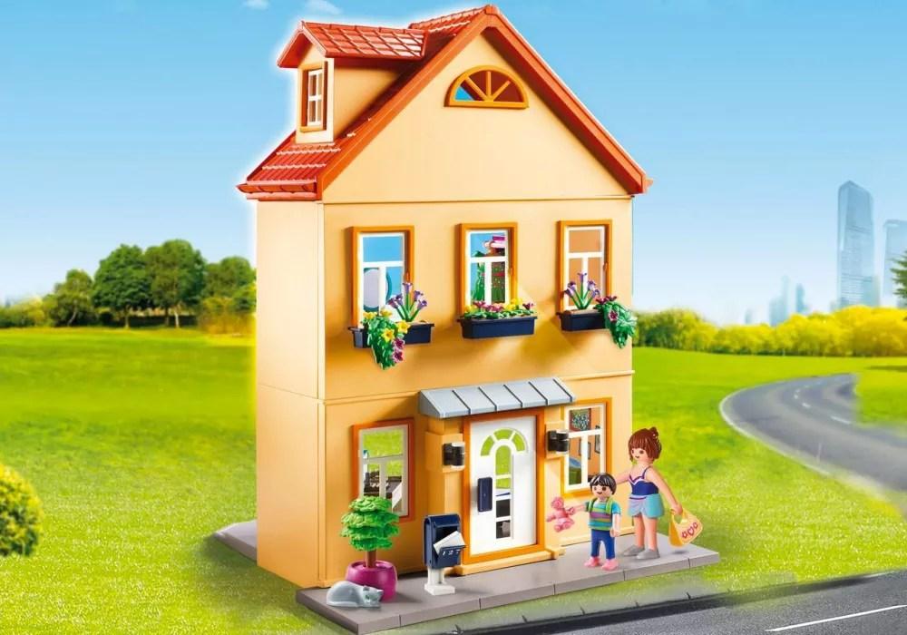playmobil city life 70014 maison de ville