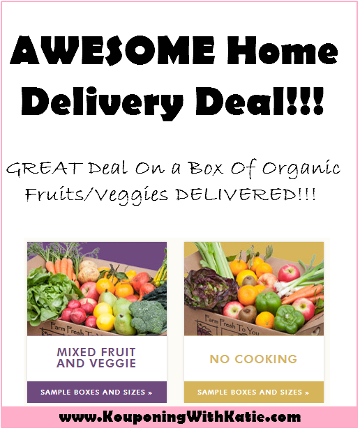 EVEN BETTER!!! AWESOME Organic Produce Home Delivery