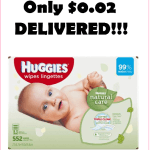 BEST PRICE!!! Huggies Wipes, Just $0.02 Each, DELIVERED!!!