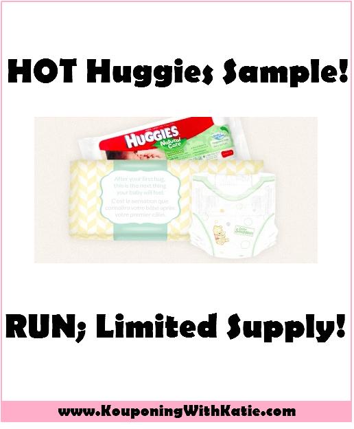 RUN!!! Huggies Sample Pack…HURRY, Quantities Limited!!!