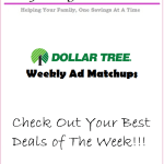 Dollar Tree – Feb 22 – 28