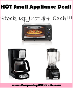 HOTTT!!!! Hamilton Beach Small Appliances, Under $4, Through 2/13