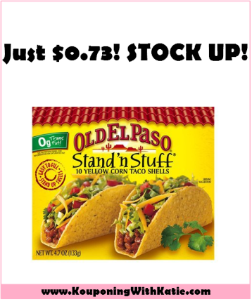 Great New Bold Stand N Stuff Taco Shells Just 0 73 At Walmart Stock Up And Get Your Snack On Kouponing With Katie