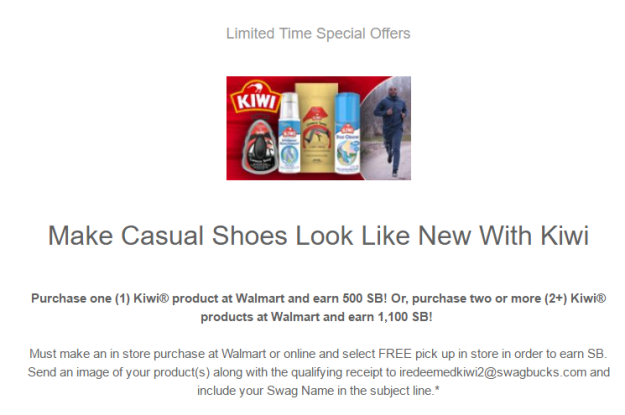 HOT Kiwi Shoe Care Money Maker Walmart Deal Kouponing With Katie - Invoices free online walmart online shopping store pickup