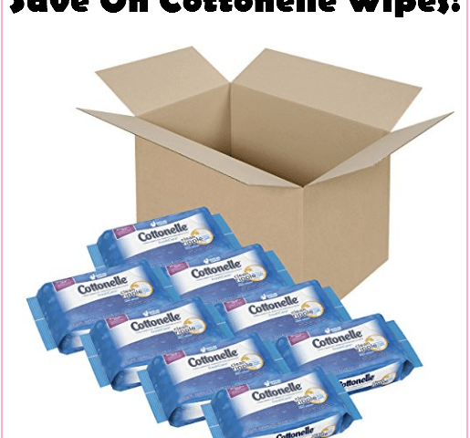 LOW Price!!! Stock Up On Cottonelle Cleansing Wipes, Just $1.16 A Pack Delivered!!!