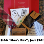 HOT Deal! Grab Your $100 Gentleman's Box For Just $20!!!