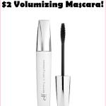e.l.f. Volumnizing Mascara, Just $2!!!