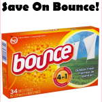 Stock Up On Bounce Dryer Sheets For Just $0.97 At Walmart!!!
