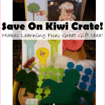 Save 50% On Kiwi Crate's Fun Learning Kits!!! GREAT Gift Idea Too!!!
