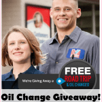 Valvoline Flash Giveaway With Quikly; Free Oil Changes + Roadtrip!!!