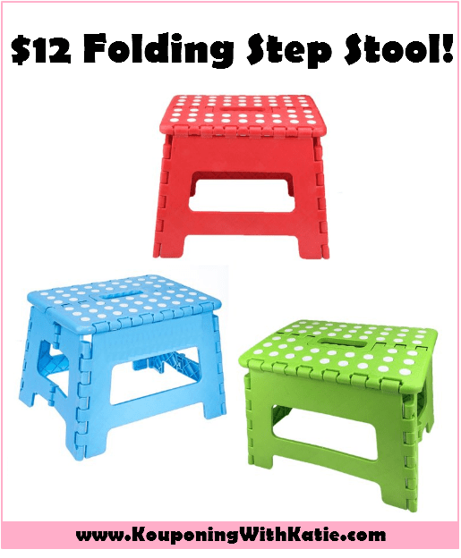 Folding Step Stool Just 12 Reg 20 Kouponing With
