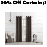Save 30% On Window Treatments At Target, Starting At Just $2, Through Tuesday ONLY!!!