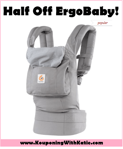 e96d3963bdf Save Half Off This ErgoBaby Baby Carrier With New Flash Sale ...