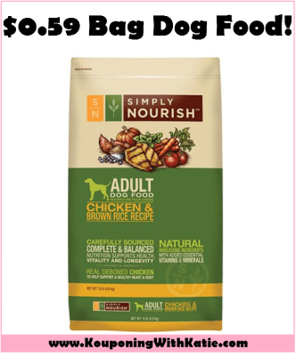 Stock Up With 059 Simply Nourish Dry Dog Food At Petsmart