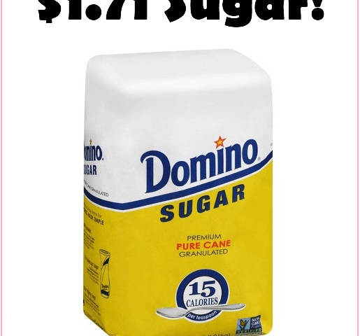 New Domino's Sugar Sale At Target = $1.71 Bags, Through 10/28!!!