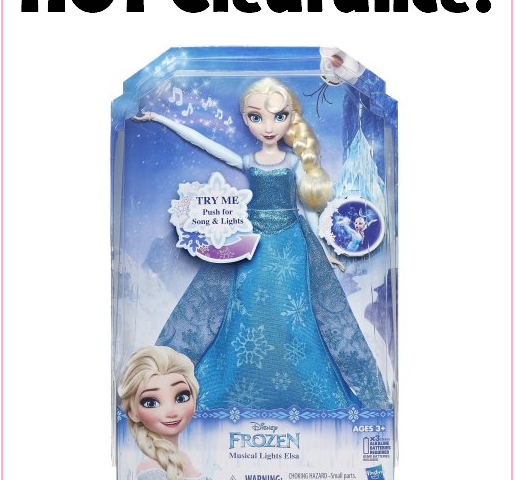 BIG Savings On This Singing Elsa Doll! Awesome Gift Idea, Or Perfect For Donating!!!