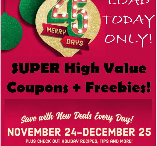 High Value Ralphs Coupons, Load TODAY ONLY!!!