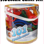 101 Piece Cookie Cutter Set, Just $10!!!