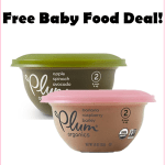 Available Again! FREE Plum Organics Baby Food w/New Amazon Promo Credit!!!