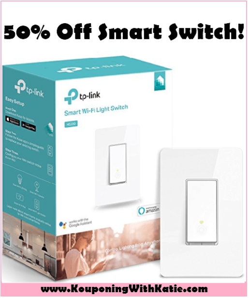 Save Half Off This WiFi Smart Switch