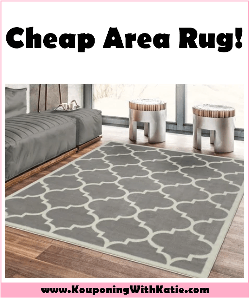Hot Sale On This Large 5x7 Area Rug Under 30 Kouponing With Katie