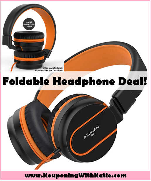 $9 99 Foldable Headphones w/Microphone With New Promo Code