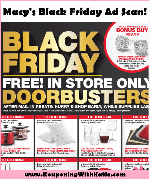 Macys Black Friday Ad Scan Kouponing With Katie