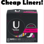 Stock Up On 014 U Kotex At Walmart Great Donation Item Too