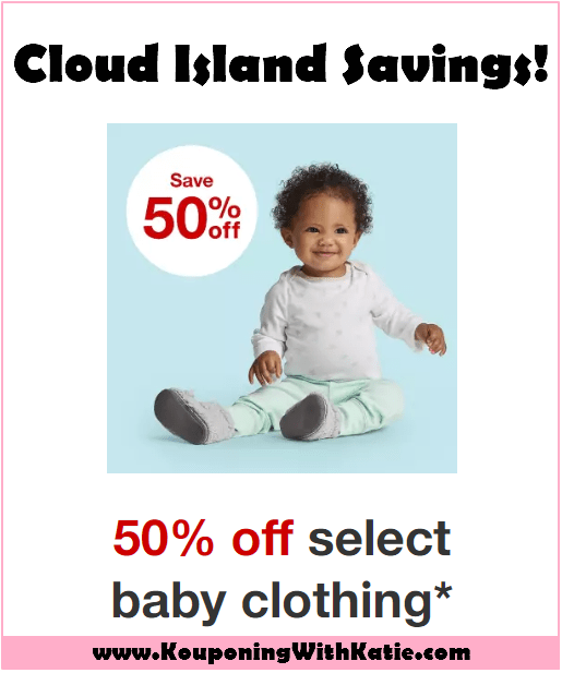 25a056501ef0a Cloud Island Baby Clothes + Accessories 50% Off Sale (Just $3+ ...