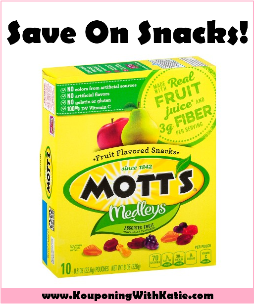 Stock Up On Mott's Fruit Snacks For Just $1 24 At CVS