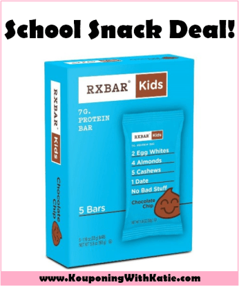 Cheap RX Kids Protein Bars & RX Nut Butter Packs