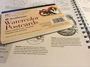 watercolor-postcards
