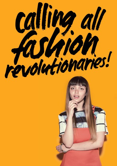 Word een Fashion Revolutionary! #whomademyclothes