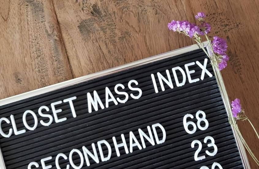 Jouw Closet Mass Index berekenen