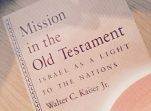 Books I Have Read: Mission In the Old Testament