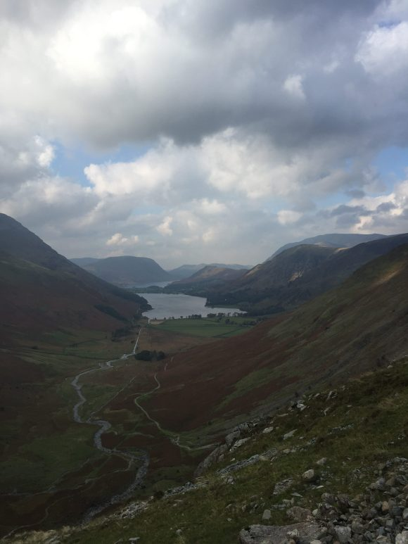 The Buttermere Valley from the slopes of Honister Pass (#4)